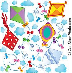 Kites theme image 1