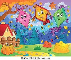 Kites theme image 9