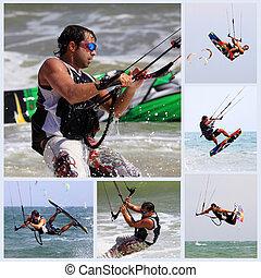 kitesurfer, handlung