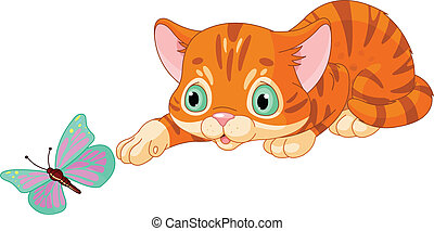 kitten illustrations and clipart 37 724 kitten royalty free rh canstockphoto com kitchen clip art images kitten clip art images free
