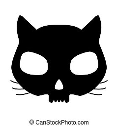 Kitten skull