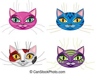 Kittens muzzles