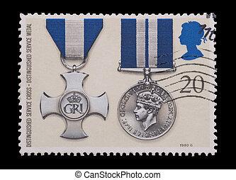 kiváló, szolgáltatás, medals