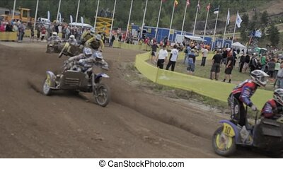 Kivioli Motocross Bikes 4 - KIVI?LI, ESTONIA - AUGUST 14:...
