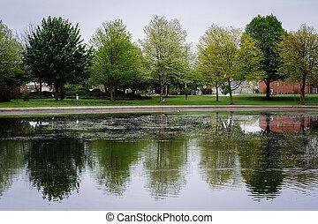 Kiwanis Lake, in York, Pennsylvania.