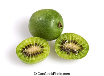 Kiwi Berry or Actinidia arguta