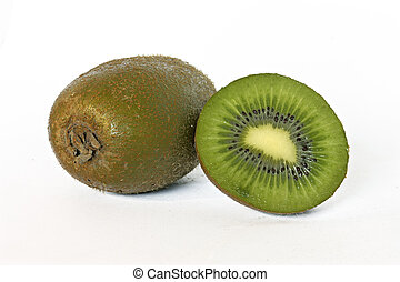 Kiwi - close up photo of a fresh kiwi fruit