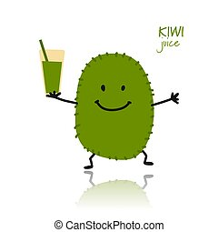 Kiwi, cute character for your design