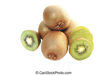 kiwi fruit and slices