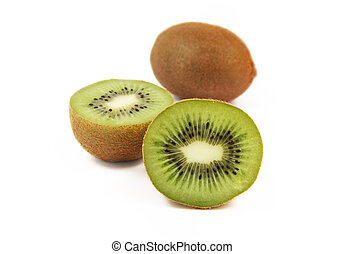kiwi, fruit frais, juteux