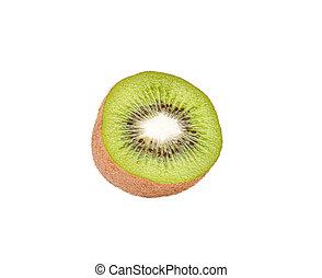 Kiwi fruit. Isolated on white background.