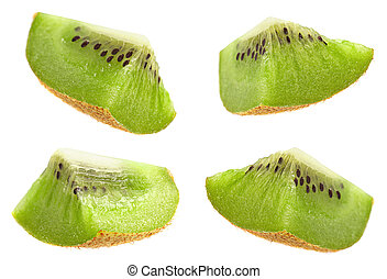Kiwi fruit slice