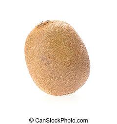 kiwi, isolado, branco, fundo