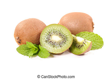kiwi isolated