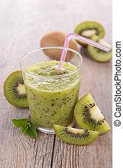 kiwi juice, smoothie