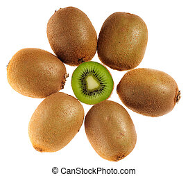 kiwi, många
