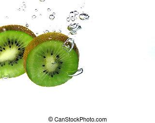 kiwi, scheibe