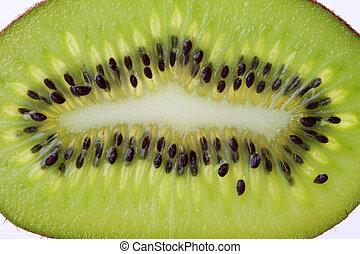 Kiwi slice background