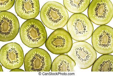 Kiwi Slice Texture