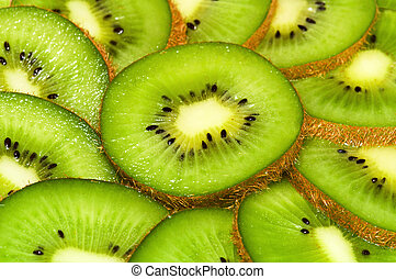 kiwi slices nackground
