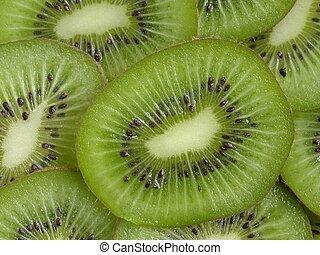 Kiwi Slices - Kiwi slices closeup