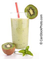 kiwi, smoothie