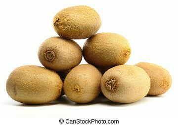 kiwi, stack, frukter