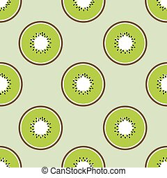 Kiwi summer fruit background