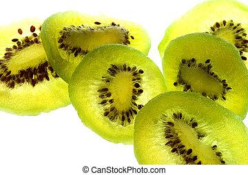 kiwi, utrzymany, owoce