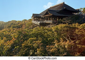 Kiyomizu Dera japanese temple
