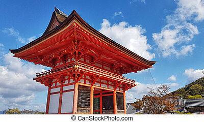 Kiyomizu-dera Temple, Higashiyama Ward, Kyoto, Japan