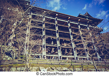 Kiyomizu-Dera temple in Kyoto, Japan. - Kiyomizu-Dera temple...