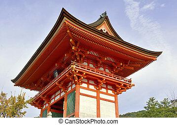Kiyomizu dera Temple, Kyoto, Japan