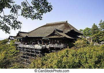 Kiyomizu Temple, Kyoto Japan - Kiyomizu Temple, Kyoto,...