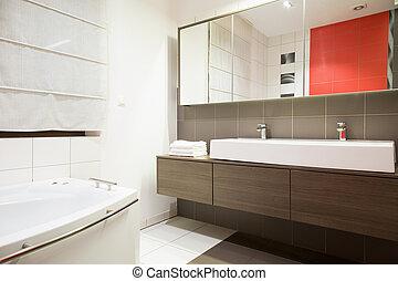kizárólagos, fürdőszoba
