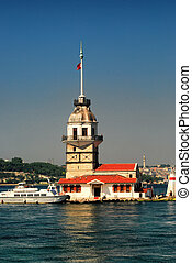 Kiz Kulesi - The Maiden's Tower, also known as Leander's...