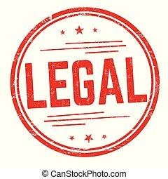 kkjbnvgfht - Legal sign or stamp on white background, vector...