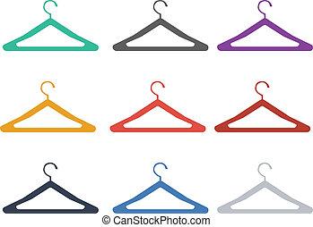 klädgalge, kläder