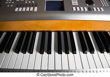 klˇźe, detail, klavír