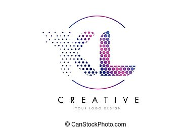 Kl K L Hand Writing Letter Company Logo Icon Design Kl K L Eps