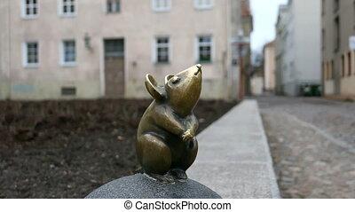Klaipeda, Lithuania - August 22, 2017: Cute little miniature...