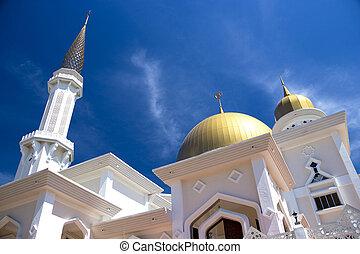 klang, mezquita, malasia