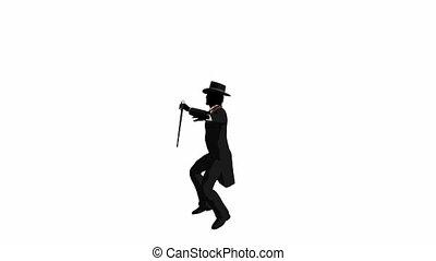 klapać danser, samiec