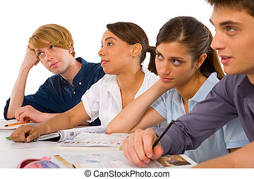 klasa, nastolatki