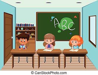 klasa, student