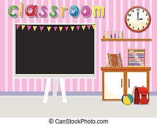 klasa, tablica, opróżniać