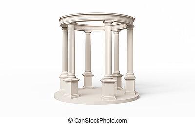 klasik, řád, rotunda, dórský