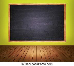 klaslokaal, achtergrond