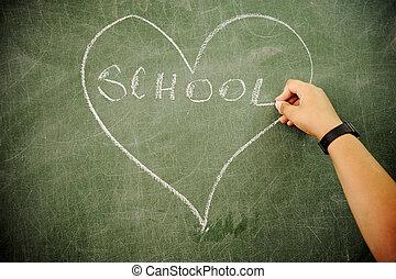 klaslokaal, activiteiten, school, leren, opleiding, kinderen, vrolijke