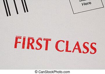 klasse, først